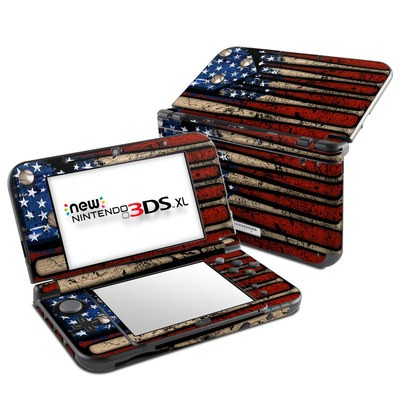 Nintendo New 3DS XL Skin - Old Glory