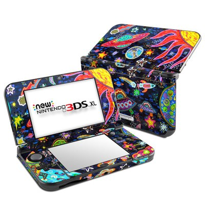 Nintendo New 3DS XL Skin - Out to Space