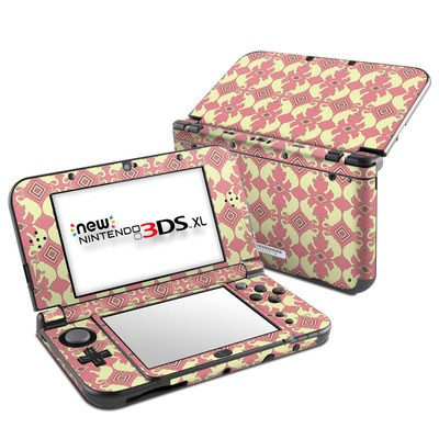 Nintendo New 3DS XL Skin - Parade of Elephants