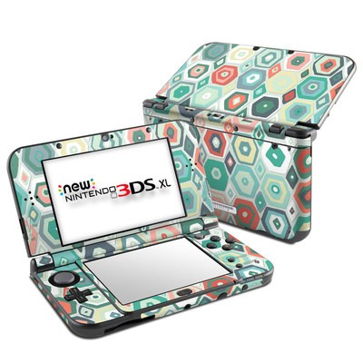 Nintendo New 3DS XL Skin - Pastel Diamond