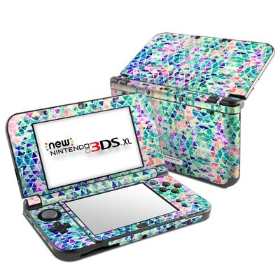 Nintendo New 3DS XL Skin - Pastel Triangle
