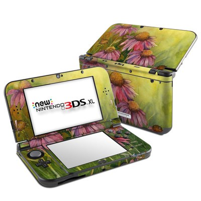 Nintendo New 3DS XL Skin - Prairie Coneflower