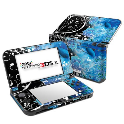 Nintendo New 3DS XL Skin - Peacock Sky