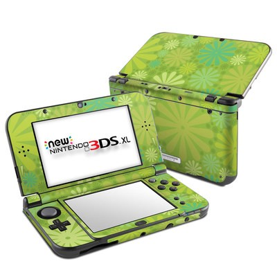 Nintendo New 3DS XL Skin - Lime Punch