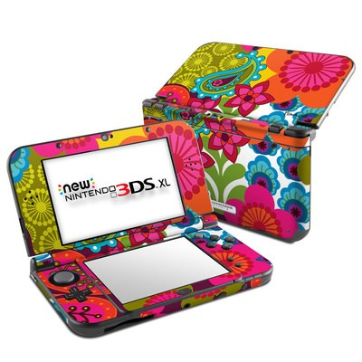 Nintendo New 3DS XL Skin - Raj