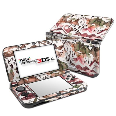 Nintendo New 3DS XL Skin - Red Mountains