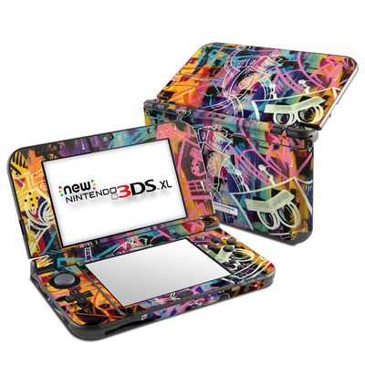 Nintendo New 3DS XL Skin - Robot Roundup