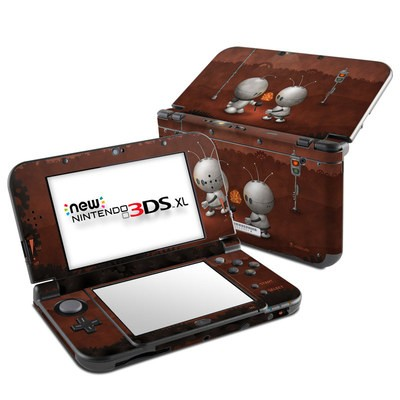 Nintendo New 3DS XL Skin - Robots In Love