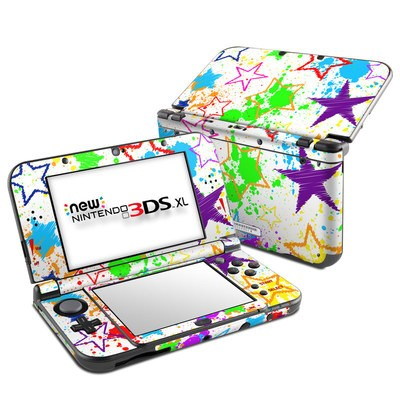 Nintendo New 3DS XL Skin - Scribbles