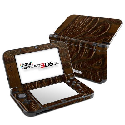 Nintendo New 3DS XL Skin - Saddle Leather