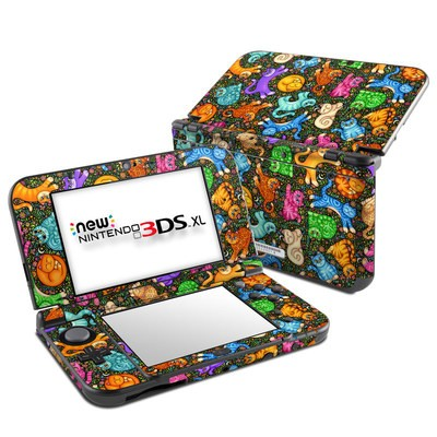 Nintendo New 3DS XL Skin - Sew Catty