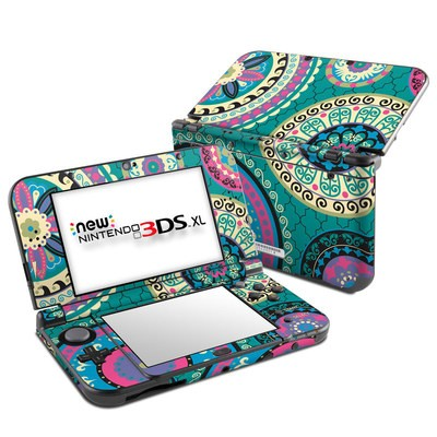 Nintendo New 3DS XL Skin - Silk Road