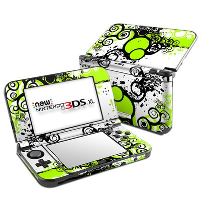 Nintendo New 3DS XL Skin - Simply Green