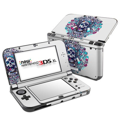 Nintendo New 3DS XL Skin - Skulls Are Cliche