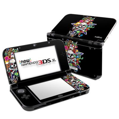 Nintendo New 3DS XL Skin - Skulldaze