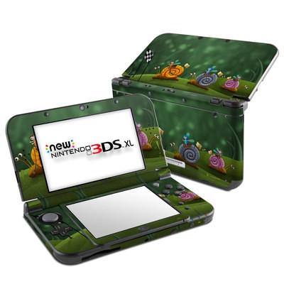 Nintendo New 3DS XL Skin - Snail Race