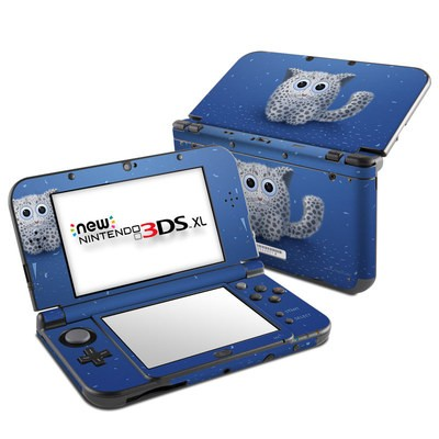 Nintendo New 3DS XL Skin - Snow Leopard