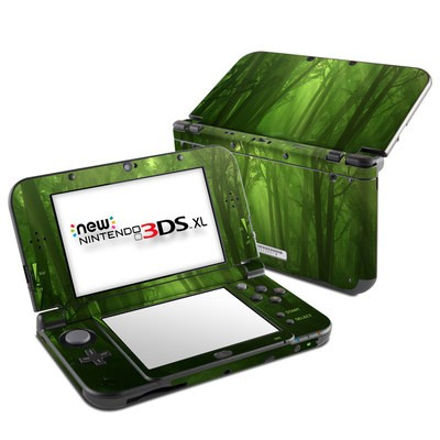 Nintendo New 3DS XL Skin - Spring Wood