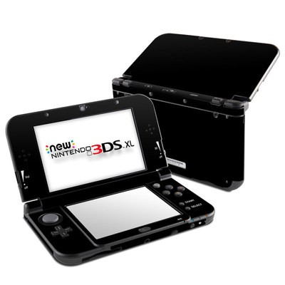 Nintendo New 3DS XL Skin - Solid State Black