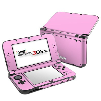 Nintendo New 3DS XL Skin - Solid State Pink