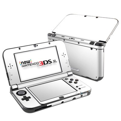 Nintendo New 3DS XL Skin - Solid State White
