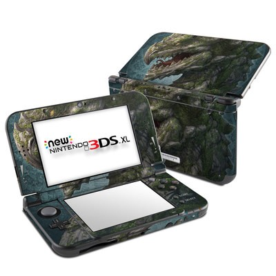 Nintendo New 3DS XL Skin - Stone Dragon