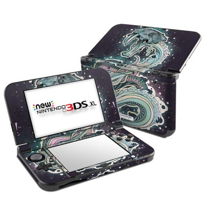Nintendo New 3DS XL Skin - Saber-Toothed Serpent