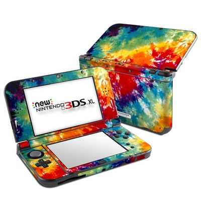 Nintendo New 3DS XL Skin - Tie Dyed