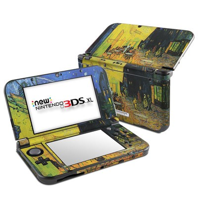 Nintendo New 3DS XL Skin - Cafe Terrace At Night