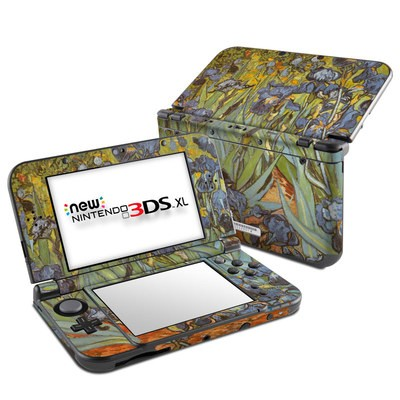 Nintendo New 3DS XL Skin - Irises