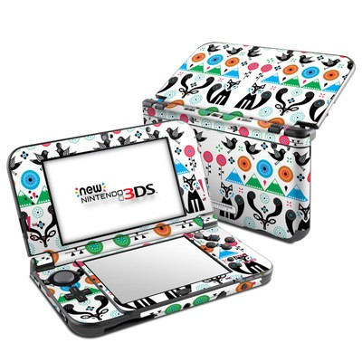Nintendo New 3DS XL Skin - Winter Forest