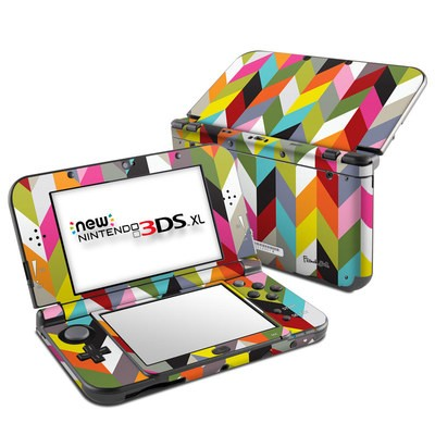 Nintendo New 3DS XL Skin - Ziggy Condensed