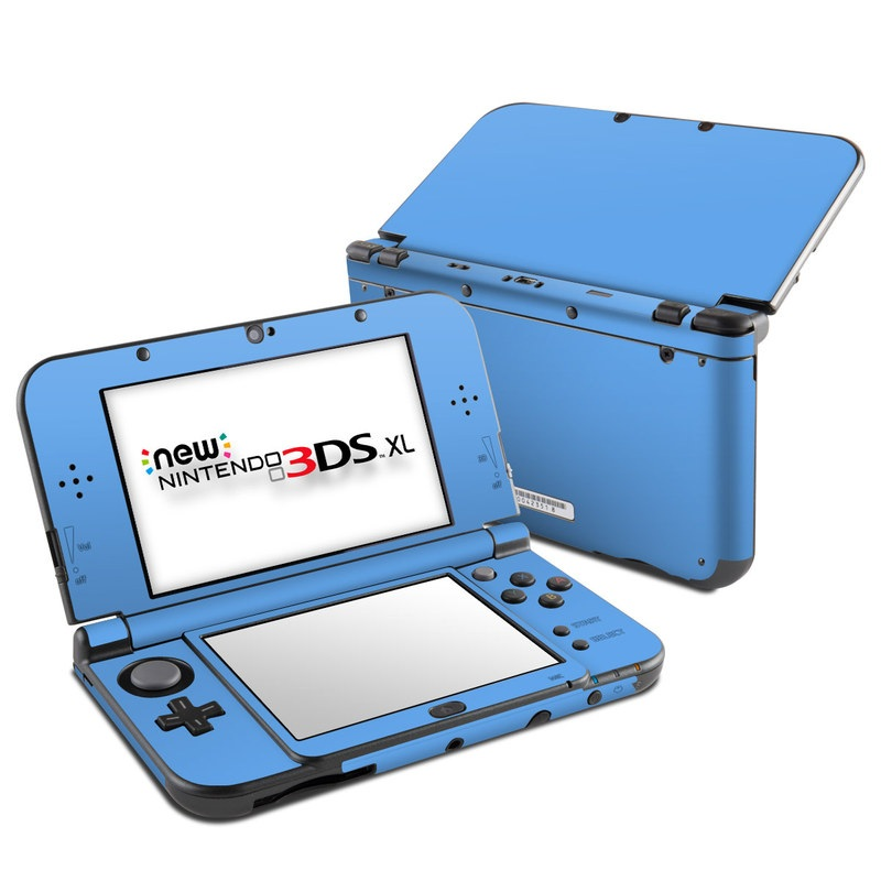 Nintendo 3ds Xl Colors : Nintendo new ds xl skin solid state blue by