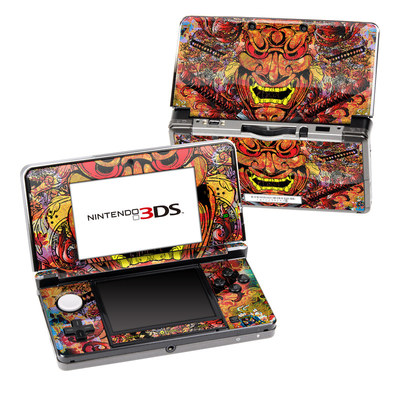 Nintendo 3DS Skin - Asian Crest