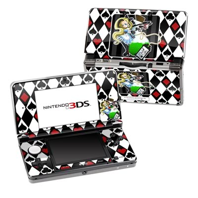 Nintendo 3DS Skin - Alice