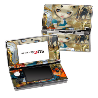 Nintendo 3DS Skin - Alice in a Dali Dream