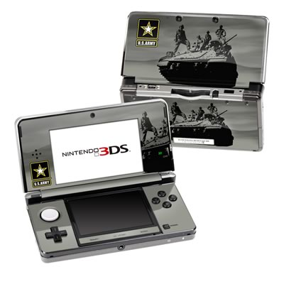 Nintendo 3DS Skin - Army Troop