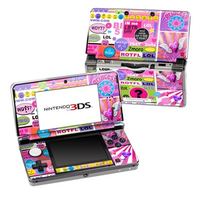 Nintendo 3DS Skin - BFF Girl Talk