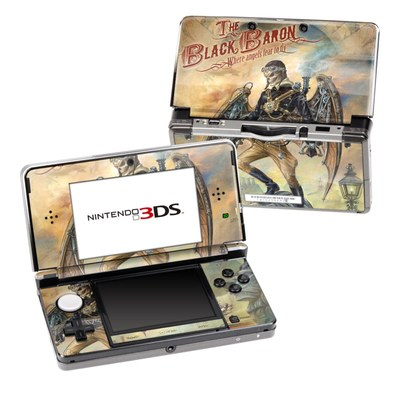 Nintendo 3DS Skin - The Black Baron