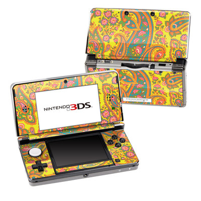 Nintendo 3DS Skin - Bombay Chartreuse