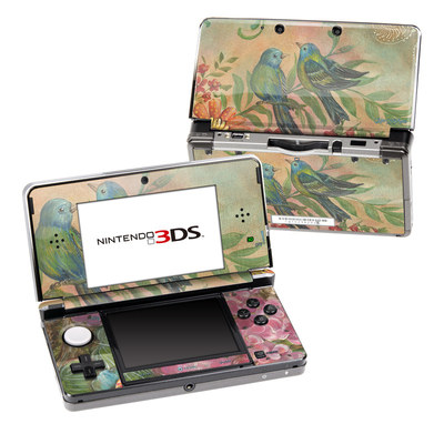 Nintendo 3DS Skin - Splendid Botanical