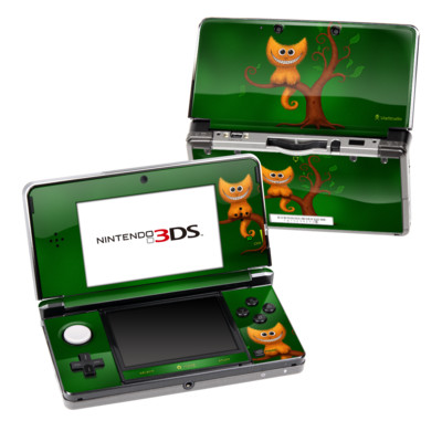 Nintendo 3DS Skin - Cheshire Kitten