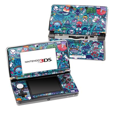 Nintendo 3DS Skin - Cosmic Ray