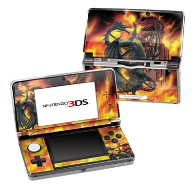 Nintendo 3DS Skin - Dragon Wars
