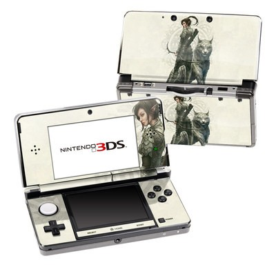 Nintendo 3DS Skin - Half Elf Girl
