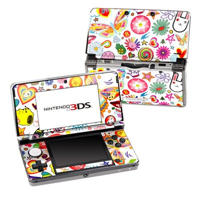Nintendo 3DS Skin - Eye Candy