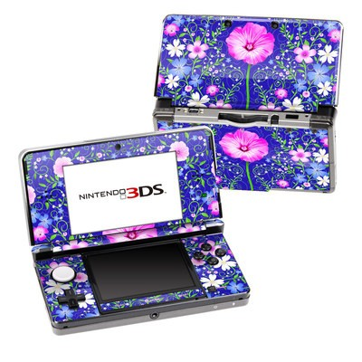 Nintendo 3DS Skin - Floral Harmony