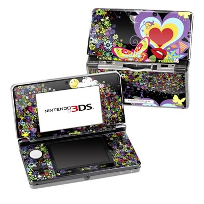 Nintendo 3DS Skin - Flower Cloud