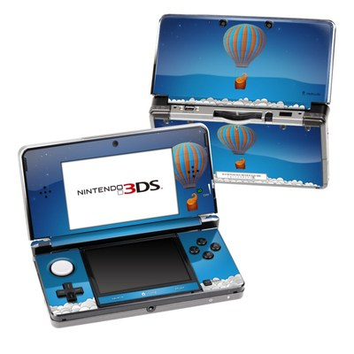 Nintendo 3DS Skin - Flying Elephant