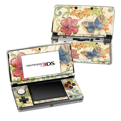 Nintendo 3DS Skin - Garden Scroll